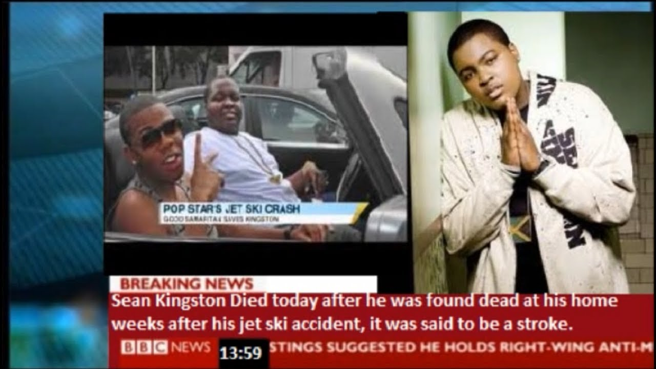 BBC News - Sean Kingston dies of stroke 9 weeks after jet ski accident
