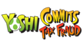 Yoshi Commits Tax Fraud Logo