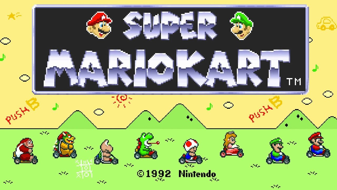 Ranked Out - Super Mario Kart