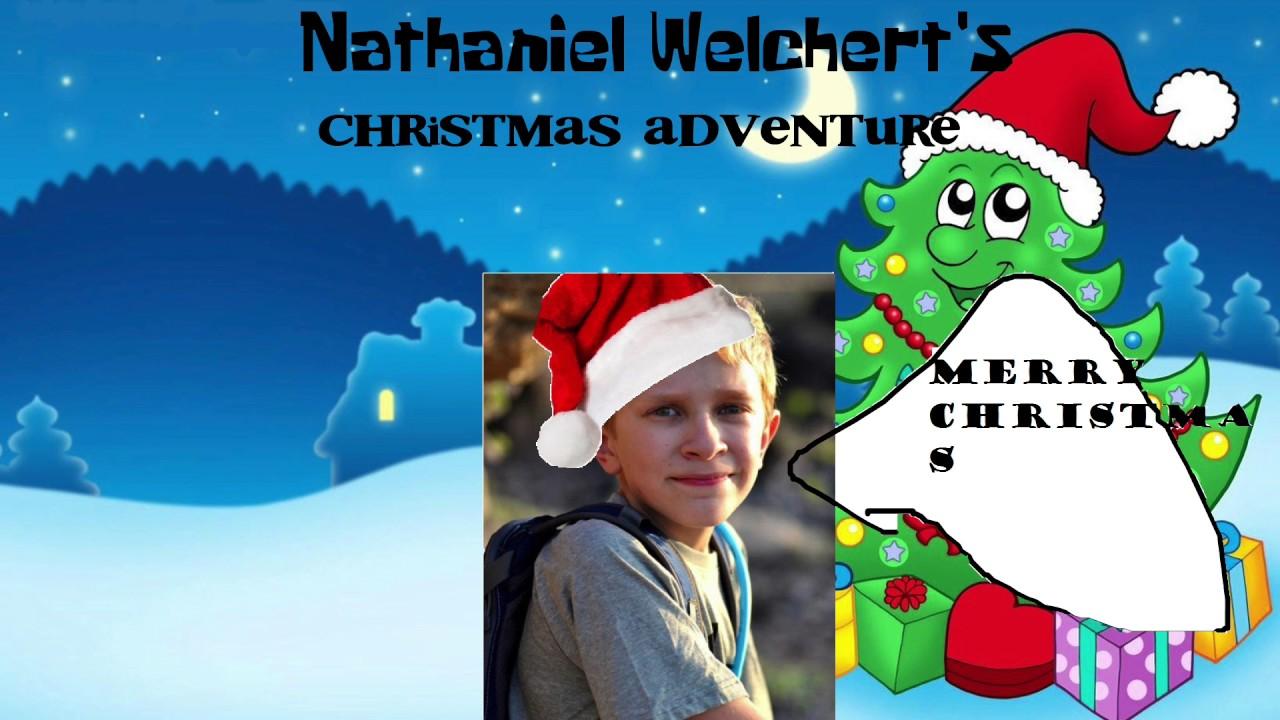 Title Screen - Nathaniel Welchert's Christmas Adventure