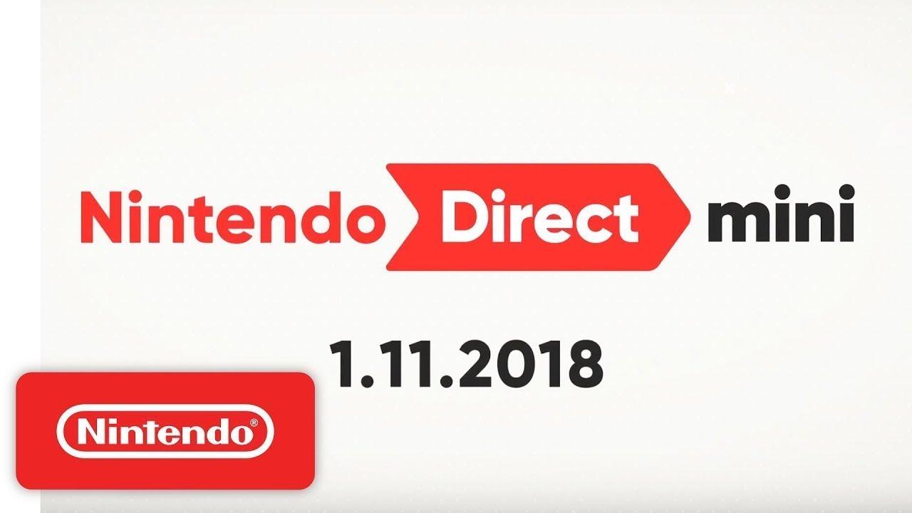 Main Theme - Nintendo Direct Mini 1.11.2018