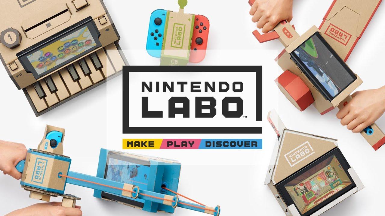 Play - Nintendo Labo: Variety Kit