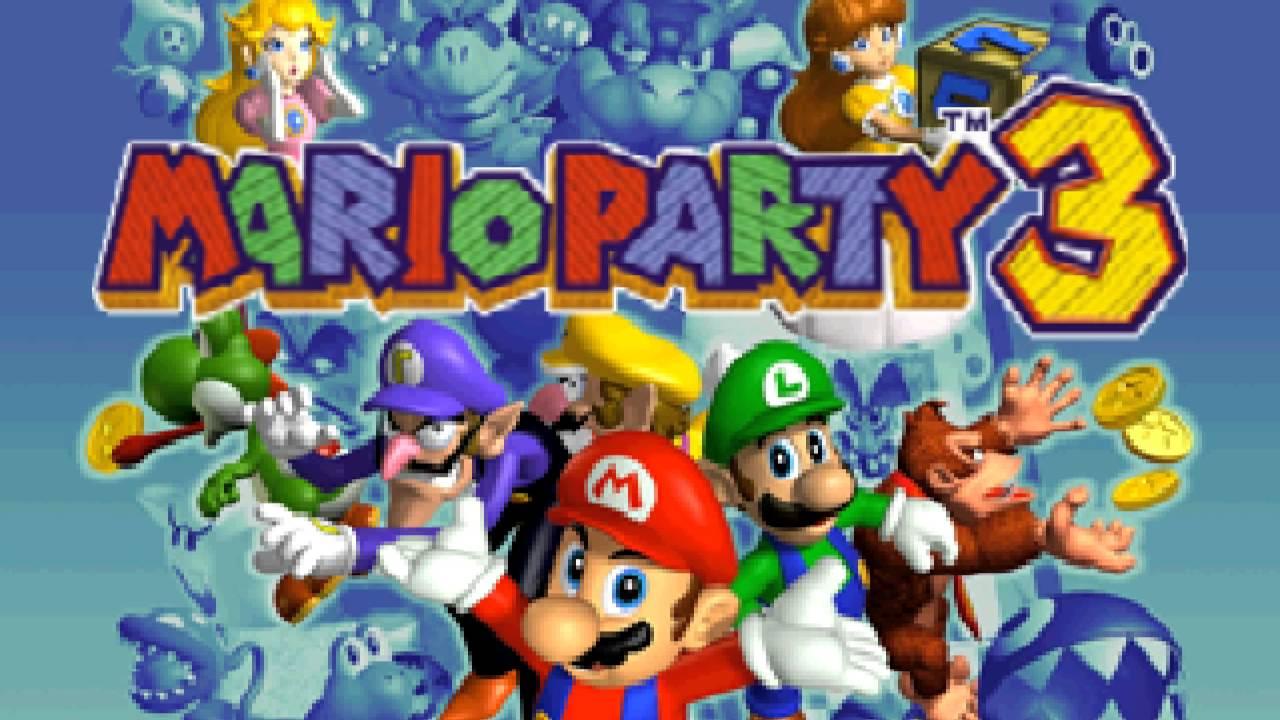 Free Play Room - Mario Party 3