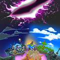 Kirby Rip Attack - background