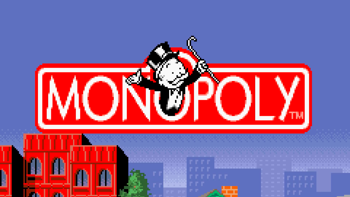 Pay Tax - Monopoly (SNES)