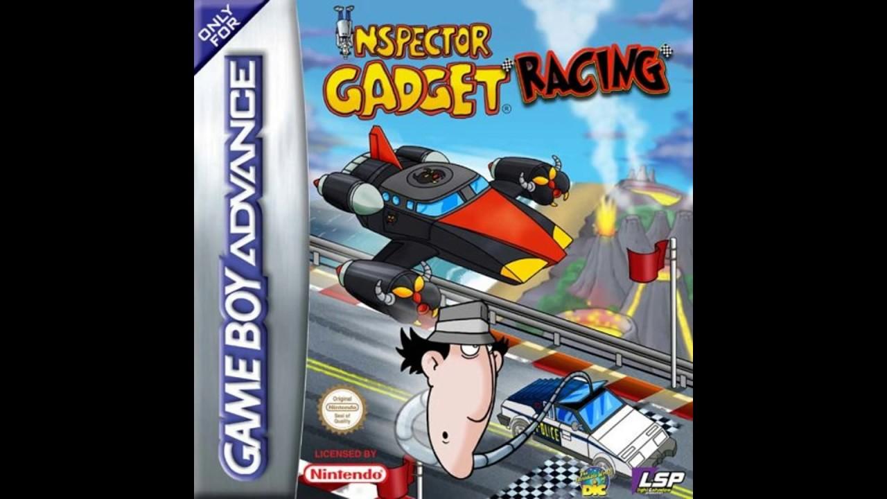 Menu - Inspector Gadget Racing