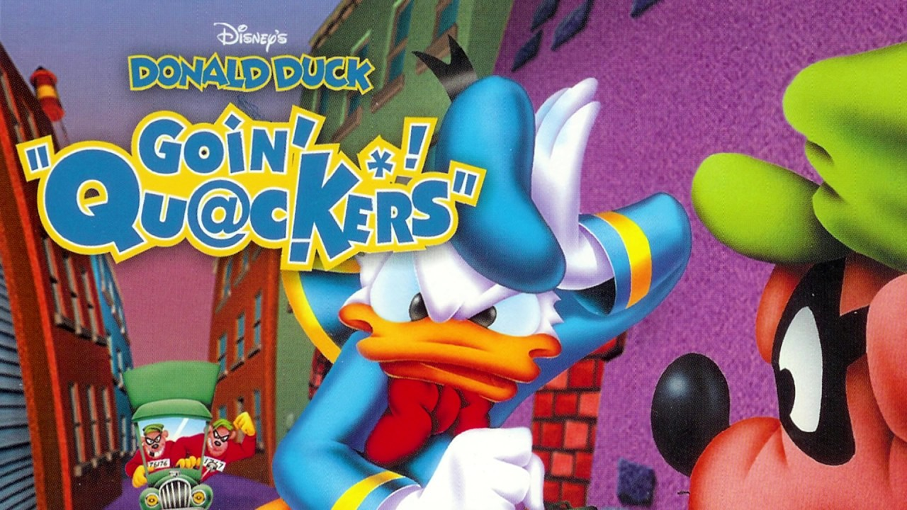 Game Over - Donald Duck: Goin' Quackers
