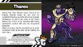 Thanos revealed