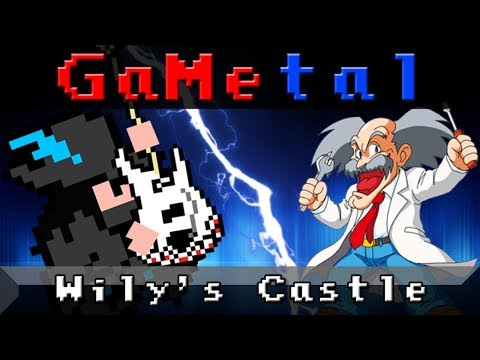 Dr. Wily Stage 1 & 2 - GaMetal