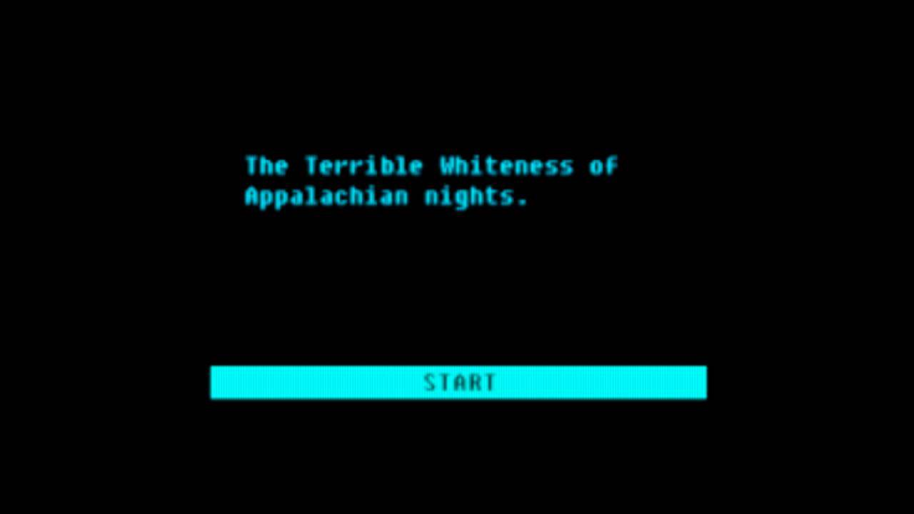 Ending - The Terrible Whiteness of Appalachian Nights