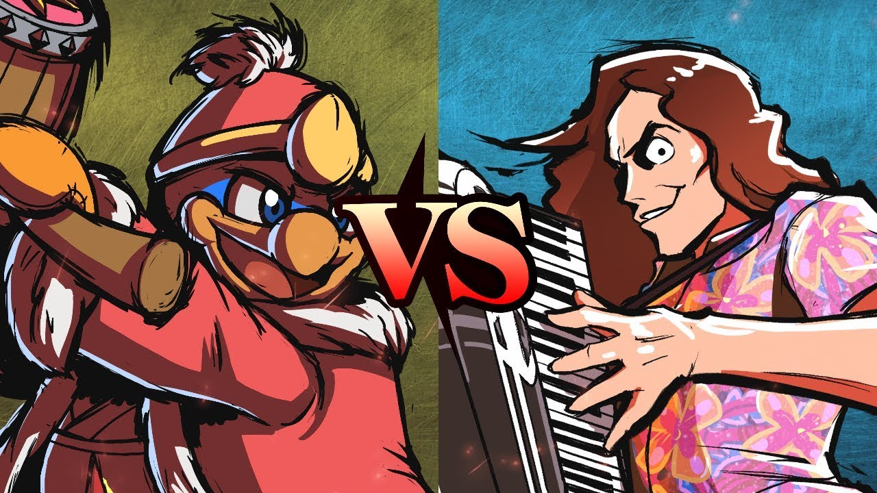 "KING DEDEDE vs. ""WEIRD AL"" YANKOVIC (Round 1, Match 1) - SiIvaGunner: King for a Day Tournament"