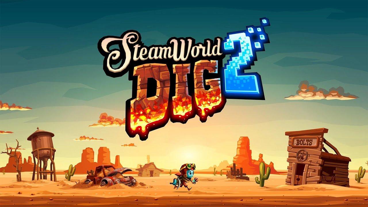 New Heights in El Machino - SteamWorld Dig 2