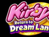 Forest Area - Kirby's Return to Dream Land