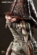 Red pyramid head variant statue gecco 14