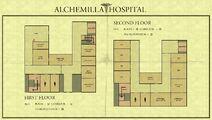 Map of Alchemilla General Hospital