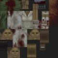 Silent Hill PS1 texture - Puppet Nurse green - SILENT 0757