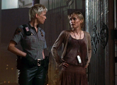 Talks to Cybil about Sharon..