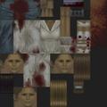 Silent Hill PS1 texture - Puppet Nurse blue - SILENT 0757