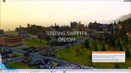 SWEETFX enabled in - SIMCITY - running on Windows 8