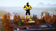 Maxisman statue