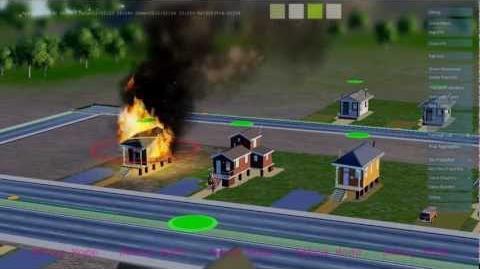 SimCity GlassBox Game Engine - Scenario 3 Fire (coming March 5, 2013)