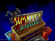 SimCity 2000 splash screen