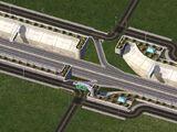 高速公路白圍牆