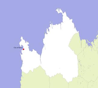 Location of Savoy in Aquitania