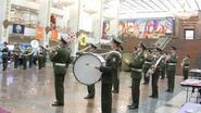 PAG Orchestra, Granda's National Anthem inside the halls of the Victory museum.