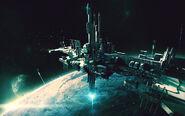 Horizon Space Elevator Orbital Terminal
