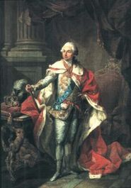 King Richard VIII in Coronation Outfit
