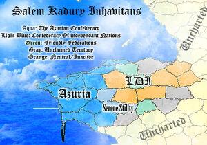 Saludong map
