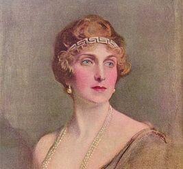 Her Grand Majesty Queen Morrigan II Wolfker State Portrait