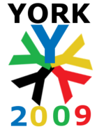 York 2009 logo