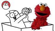 Play like a Cat - Simon's Cat & Elmo
