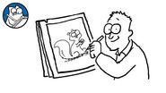 Simon Draws- Squirrels - CREATIVE