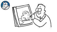 Simon Draws- Persian Cats - Simon's Cat - CREATIVE