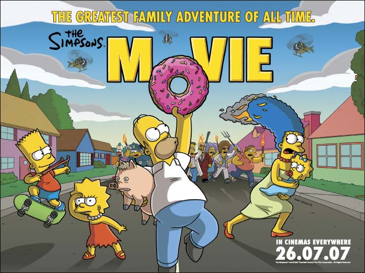The Simpsons Movie The Simpsons Wiki Fandom