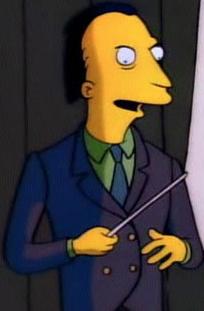 Mr. Burns' Campaign Leader