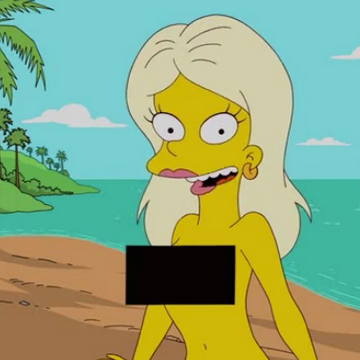 Simpsons naked the girls Simpsons porn