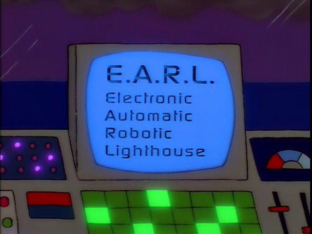 Electronic Automatic Robotic Lighthouse
