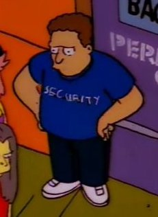 Security Guard 2 (Homerpalooza)