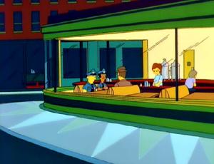 Nighthawk Diner