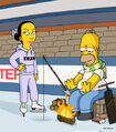 Homer and Ned's Hail Mary Pass (Promo Picture) 4
