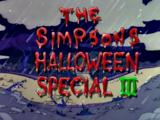 The Simpsons Halloween Special III - Title Card