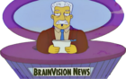 Kent Brockman (Bart to the Future)