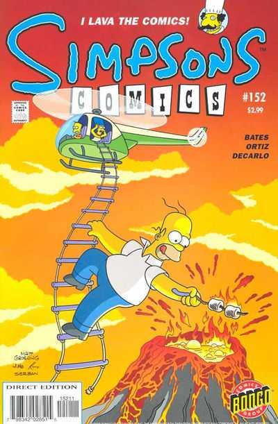 Simpsons Comics 152