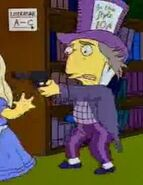 The Simpsons Mad Hatter