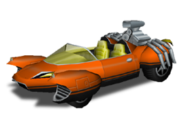 Globex Super Villain Car