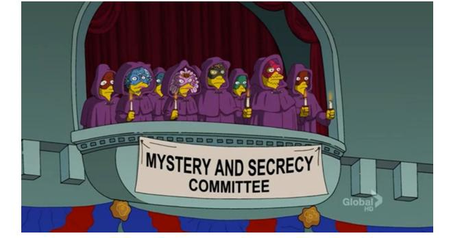 Mystery and Secrecy Committee